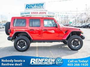 2018 Jeep Wrangler Unlimited Rubicon, Lifted, 35 Inch BFG A/T, N