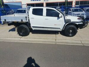 2014 Holden Colorado RG MY14 LX (4x4) White 6 Speed Manual Crew Cab Pickup Dandenong Greater Dandenong Preview