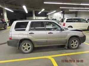 PARTING OUT / WRECKING: 2008 SUBARU FORESTER  PARTS