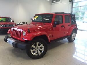 2015 Jeep Wrangler Unlimited Sahara 2 TOITS BLUETOOTH 4X4 GPS TO