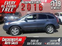 2010 Honda CR-V EX-L 4WD-LEATHER-S.ROOF-H.SEATS