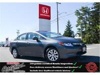 2012 Honda Civic LX, Cruise Control, Only one owner !!