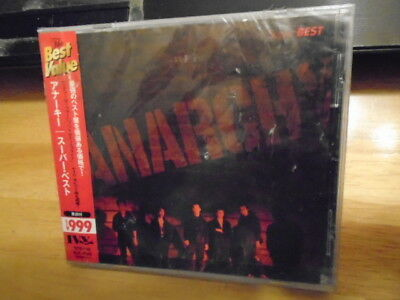SEALED RARE JAPAN Anarchy CD Super Best PUNK The Clash cover Rock band 12 songs