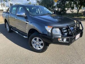 2015 Ford Ranger PX XLT Double Cab Grey 6 Speed Sports Automatic Utility