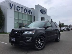 2016 Ford Explorer Sport, Navigation, Pano Roof, 7 Pass