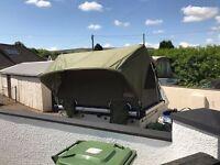 Unique Trailer Tent System