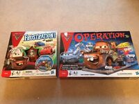 Disney Cars Frustration and Disney Cars Operations Games