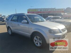 2009 Ford Territory SY MkII TS Silver 4 Speed Sports Automatic Wagon Campbelltown Campbelltown Area Preview