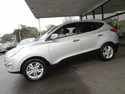 2012 Hyundai ix35 LM MY13 Elite (AWD) Silver 6 Speed Automatic Wagon Sylvania Sutherland Area Preview