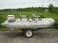 1999 Qucksilver inflatable raft For Sale