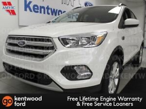 2018 Ford Escape SE 4WD Sport with heated power seats and a back