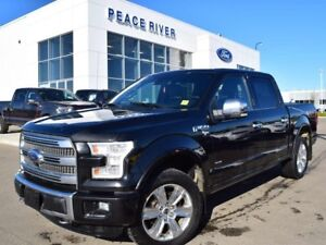 2015 Ford F-150 Platinum 4x4 SuperCrew Cab 5.5 ft. box 145 in. W
