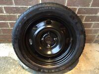 Peugeot 207 Spare Wheel, Tyre, Wheel Brace & Jack