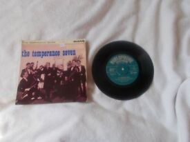 Vinyl 7in EP The Temperance Seven Parlophone GEP 8840 Mono