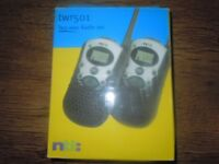 WALKIE TALKIES TWO WAY RADIO SET