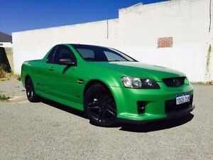 2010 Holden Commodore VE MY10 SS Green 6 Speed Manual Utility Beckenham Gosnells Area Preview