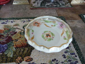 Beautiful Small Footed Nippon Porcelain Bowl