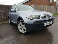 BMW X3 3.0 SPORT 5DR AUTOMATIC (blue) 2004