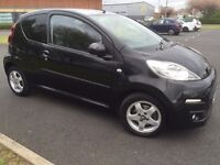 Stunning Peugeot 107 recently serviced and mot tested paintwork and general condition is like new