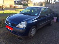 Renault Clio - non runner - project/parts
