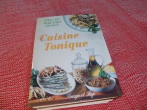 Livre de recettes Cuisine Tonique et 365 menus
