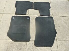 VW UP set of black car mats