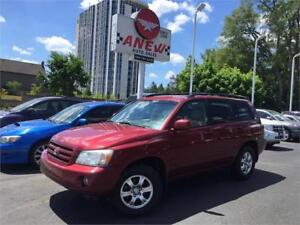 2006 Toyota Highlander Limited 4x4 Leather Loaded | CERTIFIED