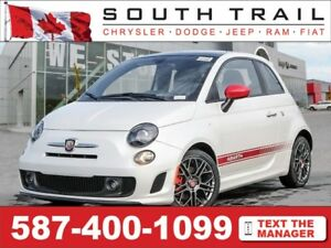 '17 FIAT 500 Abarth - LOADED, TURBO, Manual, Nav, Blutooth, Lthr