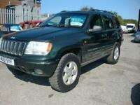 2001 51 JEEP GRAND CHEROKEE 4.0 LIMITED 5D AUTO 188 BHP