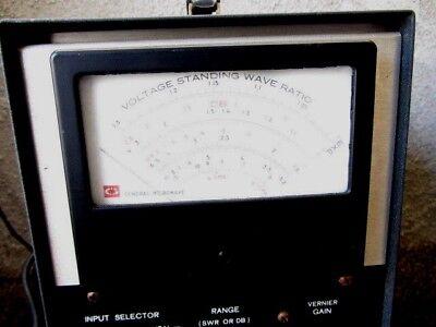 General Microwave 351 Standing Wave Indicator Amplifier Meter U.s.a.f