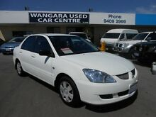 2005 Mitsubishi Lancer CH ES Alaskan White 4 Speed Automatic Sedan Wangara Wanneroo Area Preview