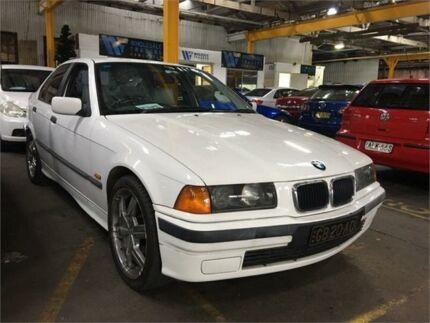 1997 BMW 323I E36 Executive White 5 Speed Automatic Sedan