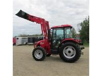 New 2015 TYM 754 Tractor with 75 HP DEUTZ Engine and DeLuxe Cab