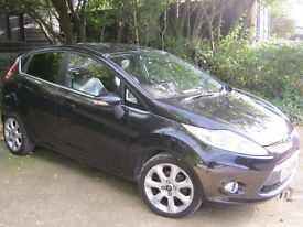 Ford Fiesta, titanium, black, 1.4