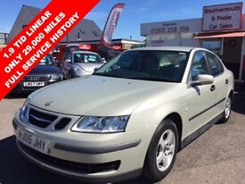 SAAB 9-3 1.9 DT LINEAR 120 BHP ONLY 29,000 MILES 6 SPEED DI (silver) 2005