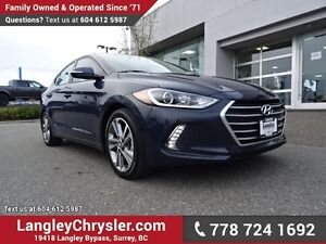 2017 Hyundai Elantra GLS ACCIDENT FREE W/ BLUETOOTH, SUNROOF...