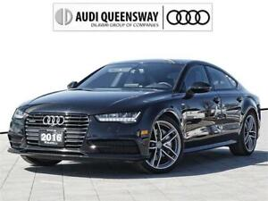 2016 Audi A7 3.0T Technik|No Accidents|Low Kms|Black Optics