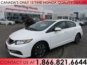 2015 Honda Civic EX | ALL WEATHER MATS | 1 OWNER