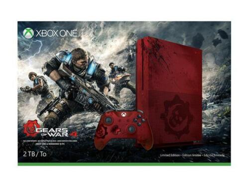 $449.99 - Xbox One S 2TB Console - Gears of War 4 Limited Edition Bundle
