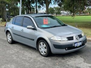 2005 Renault Megane II L84 Expression Silver 6 Speed Manual Sedan Burswood Victoria Park Area Preview