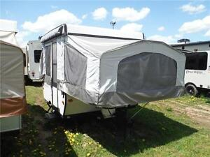 2013 Palomino 8CLS 8' Tent Trailer - Sleeps 5- Only 1273LBS!!!