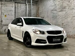 2015 Holden Commodore VF MY15 SV6 White 6 Speed Manual Sedan Mile End South West Torrens Area Preview