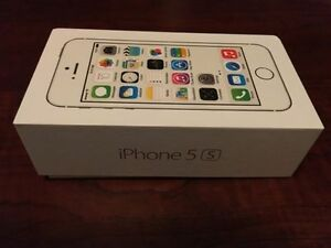 Gently Used iPhone 5S, 16G silver (unlocked)