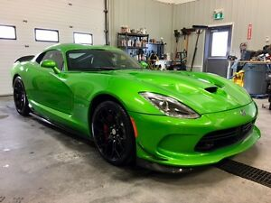 2014 Viper SRT GTS 8.4L V10 Stryker Green