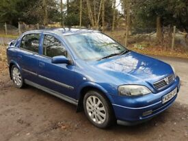 Astra 1.6 sport for sale or swap