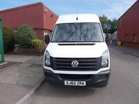 Volkswagen Crafter LWB 2.0 TDI 136PS HIGH ROOF VAN DIESEL MANUAL WHITE (2015)