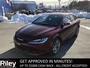 2015 Chrysler 200 S STARTING AT $154.33 BI-WEEKLY