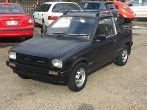 1987 Suzuki Mighty Boy 300KG Black 2 Speed Automatic Utility Woodville Park Charles Sturt Area Preview