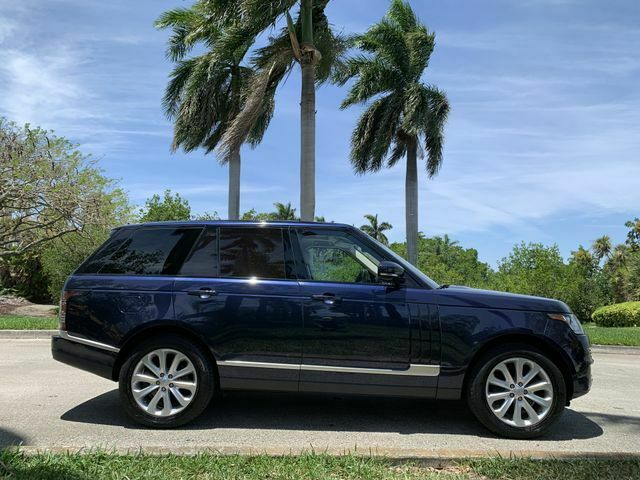 2016 Land Rover Range Rover HSE Sport Utility 4D