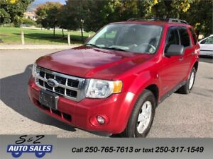 2008 Ford Escape XLT 4WD LOW KM!